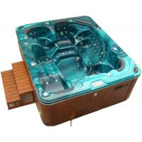 Outdoor Freestanding Swim Spa Tub Acrylic Material For 5 - 6 Persons