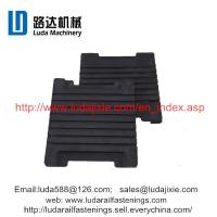 railway rubber sheet P60 IIIb elastic rail pad used under the P60 rail Manufactures