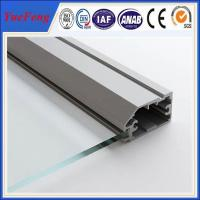 factory aluminium glass door frame profile, aluminium bathroom doors, aluminium door frame Manufactures
