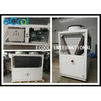 Simple Structure Air Cooled Condenser / Walk In Cooler Condensing Unit 23A Manufactures
