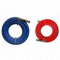 Rubber Hose, Available in Blue and Red Colors Manufactures