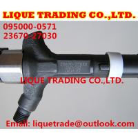 Quality DENSO common rail injector 095000-0570 , 095000-0571 TOYOTA Avensis 23670-27030, 23670-29035 for sale