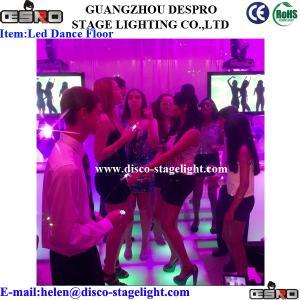 China Party DMX LED Dance Floor Lights RGBW Color Changing LED Brick Light on sale