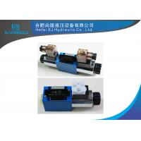 4WE Series Solenoid Hydraulic Directional Valve For Replacing Rexroth Valve Manufactures
