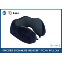 China supplier new style U shape memory foam neck travel pillow Manufactures