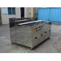 Multi Tank Industrial Ultrasonic Cleaner For Car / Motor / Truck Wash Rinse Dry Ultrasonic Parts Cleaner Manufactures