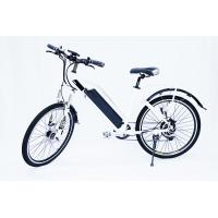 White Water Proof  Electric City Bike With Fender ,front suspensionfork  , 7 speed Manufactures