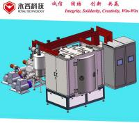 Coffee Cups Or Spoon PVD Ceramic Coating Equipment , Ion Plating Machine Manufactures