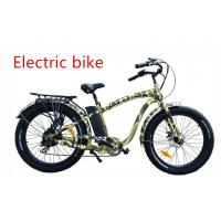 Quality Alloy 6061 fat tire Electric Mountain bike for men  500W 48V motor powered bicycle for sale