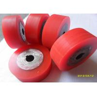 China Industrial Polyurethane Rollers Wheels Machinery Accessories Polyurethane Wheels on sale
