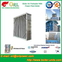 Water Heat CFB Boiler APH Steam Air Preheater In Cement Plant , Tubular Air PreHeater Manufactures