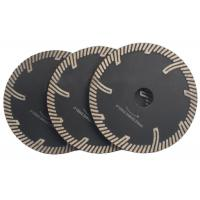 """4 - 9 """" Sintered Diamond Stone Saw Blades With Turbo Protection Teeth Manufactures"""