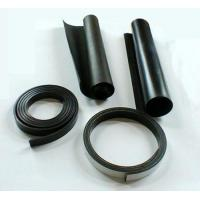 China Epoxy Resin Black Magnetic Sheets Flexible Rubber Magnets with high temperature resistancy on sale