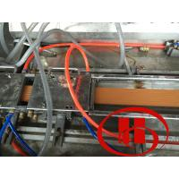 High Resolution WPC Door Machine For Recycled Plastic Material / Wood Powder WPC Door Machine Manufactures