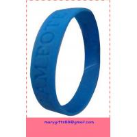 buy silicone discount bracelets for promotion with low price Manufactures