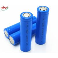 IMR18650 3.7V 1500mAh 18650 Lithium ion Battery 0.5C Standard Charger and Discharge Rate Manufactures