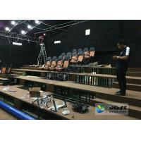 180 Degree Curved Screen 5D Theater System Counting System 9 Seats Manufactures