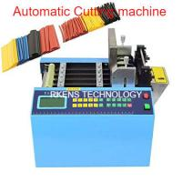 English Language Automatic Webbing Cutter For Heat Shrink / PVC Sleeve Tubing Manufactures