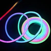 Digital RGB Dream Color Flexible 12V LED Pixel Neon IP65 Outdoor Decoration Neon Rope Light Manufactures