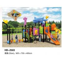 China Plastic Childen Outdoor or Indoor Playground Equipment with Slide and Climbing TUV CE Manufactures