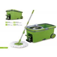 Telescopic Handle 360 Microfiber Spin Mop And Bucket House Cleaning Tools Manufactures