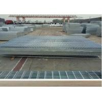 Welded 30 X 3 Galvanized Steel Grating Durable Safety ISO9001 Standard Manufactures