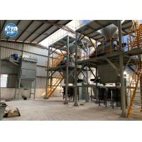 Ceramic Tile Adhesive Dry Mix Mortar Production Line With Environmental Protection Manufactures