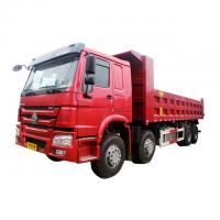 China Low Fuel Consumption Heavy Duty HOWO 8x4 Dump Truck Euro Two  251 - 350hp on sale