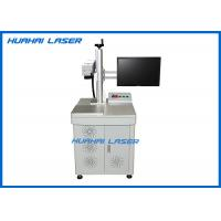 CE FDA Certified Fiber Laser Marking Machine For Stainless Steel / Anodized Aluminium Manufactures