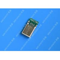 male mobile phone usb connector type c usb 3 1 with copper