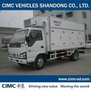 QL5100XLC9PARJ 4 Ton 4*2 ISUZU CHASSIS Insulated Trailer Unit freightliner vans for sale Manufactures