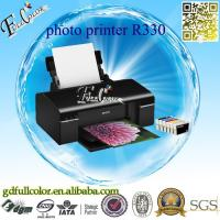 China Printing Machine Tshirt / CD / Tray / PVC / ID Card 6 Colors A4 Inkjet Printer R330 for Sublimation & Photo Printing on sale