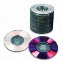 Non-printed/Printed 80mm Mini DVD+R/Blank DVD in Shrinkwrap Pack, with 1.4GB Capacity Manufactures