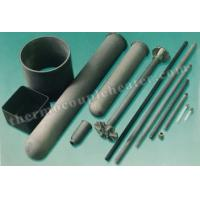 Thermocouple Components Nitride Bonded Silicon Carbide NSiC Thermocouple Protection Tube Manufactures