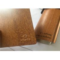 No Pollution Wood Grain Powder Coating , Sublimation Wood Textured Powder Coat Manufactures