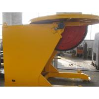 Max Loading Capacity 8000 Kg Revolving and Tilting Welding Positioner Siemens VFD Control Revolving Speed Manufactures