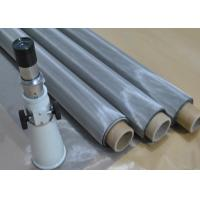 China SUS304N Ss Screen Material Stainless Steel Printing Mesh Good Heat Melting on sale