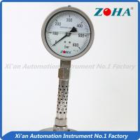 China Oil Filled All Stainless Steel Pressure Gauge For Corrosive Environment on sale