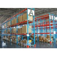 Q235 Steel Warehouse Heavy Duty Pallet Racks Selective Shelving Powder Coated Manufactures