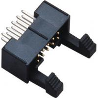 H=7.90  2.0 latch Header 10P Short Latch Straight PA9T Black ejector conncetor  UL94V-0 Manufactures