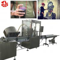 China Automatic Graffiti Spray Paint aerosol filling machines on sale