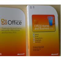 Microsoft Office 2010 Product Key Card , Microsoft Home and Business 2010 Product Key Manufactures