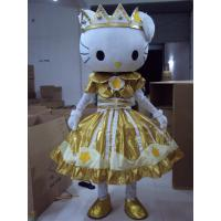 handmade full-body cartoon Hello-Kitty mascot fansy dress costumes Manufactures