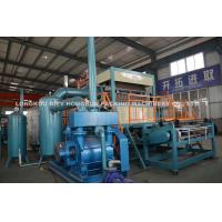 Waste Paper Egg Tray Making Machine With Vacuum Pump , Air Compressor Manufactures