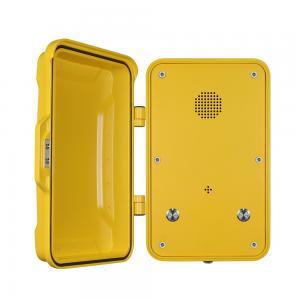 Public IP68 Industrial Weatherproof Telephone With Cast Aluminum Enclosure Manufactures