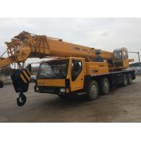 Hydraulic Second Hand Truck CranesXCMG 88s Luffing Time 40% Grade Ability Manufactures