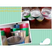 Colored Aluminum Foil for Egg Tarts Cup Manufactures