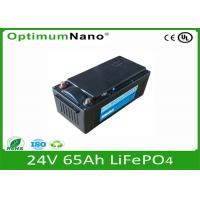Junp Starting 24V 65Ah Lifepo4 Battery Charger For Car / Bus LFP 32650 Manufactures