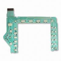 0.0.1 to 0.125mm PET Flexible PCB, Includes PET, Silver Pulp and Insulating Layer Manufactures