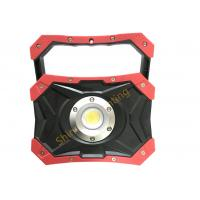 Rectangular Rechargeable Led Work Light Battery Operated With Magnetic Base Manufactures